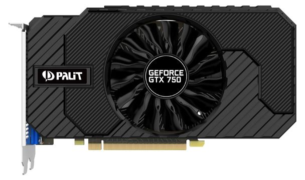 Palit GeForce GTX750 StormX OC