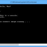 Windows, интерпретаток командной строки и пакетные файлы