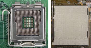 Socket 775 и Socket 939